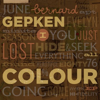 Bernard Gepken – I just lost all colour